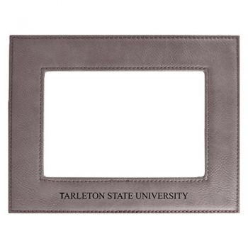 Tarleton State University-Velour Picture Frame 4x6-Grey