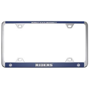 Murray State University -Metal License Plate Frame-Blue