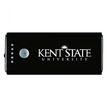 Kent State University-Portable Cell Phone 5200 mAh Power Bank Charger -Black