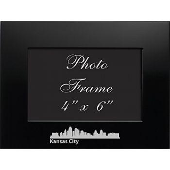 4 x 6  Metal Picture Frame - Kansas City City Skyline