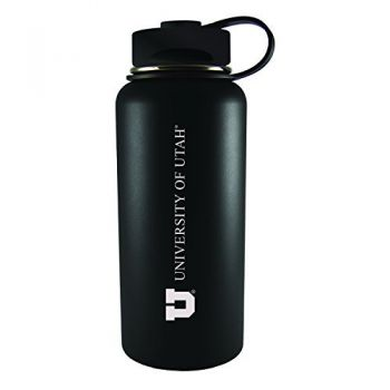 University of Utah-32 oz. Travel Tumbler-Black