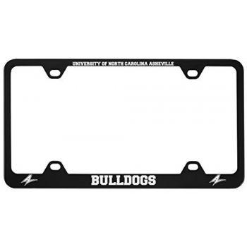 University of North Carolina at Asheville-Metal License Plate Frame-Black