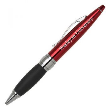 Wesleyan University - Twist Action Ballpoint Pen - Red