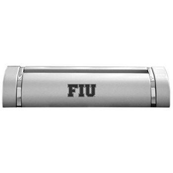 Florida International University-Desk Business Card Holder -Silver