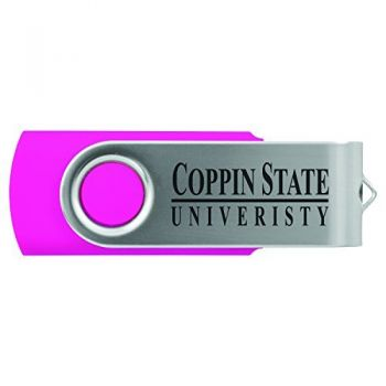 Coppin State University -8GB 2.0 USB Flash Drive-Pink