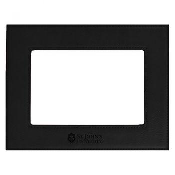 St. John's University-Velour Picture Frame 4x6-Black