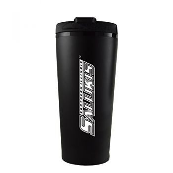 Southern Illinois University -16 oz. Travel Mug Tumbler-Black