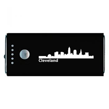 Quick Charge Portable Power Bank 5200 mAh - Cleveland City Skyline