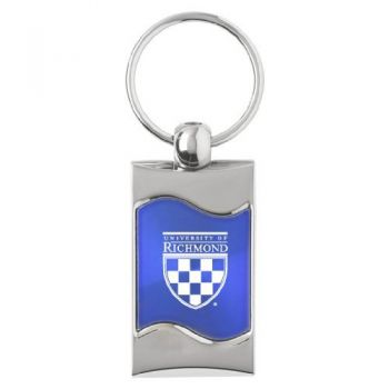 University of Richmond - Wave Key Tag - Blue