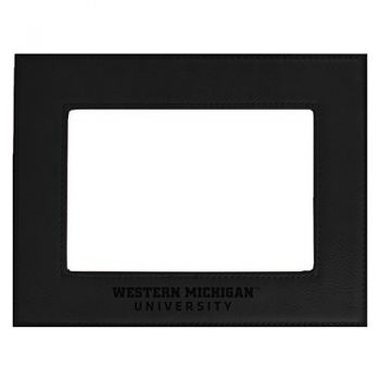 Western Michigan University-Velour Picture Frame 4x6-Black