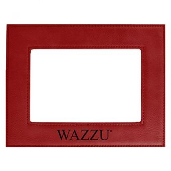 Washington State University-Velour Picture Frame 4x6-Red