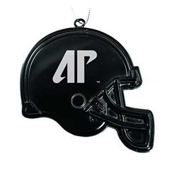 Austin Peay State University - Chirstmas Holiday Football Helmet Ornament - Black