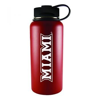 Miami University -32 oz. Travel Tumbler-Red