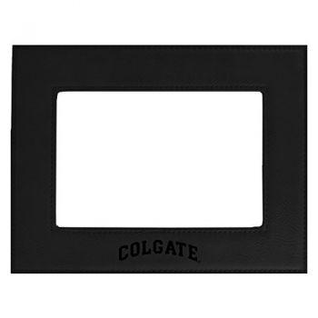 Colgate University-Velour Picture Frame 4x6-Black