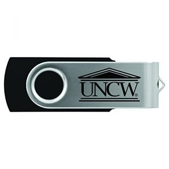 University of North Carolina Wilmington -8GB 2.0 USB Flash Drive-Black