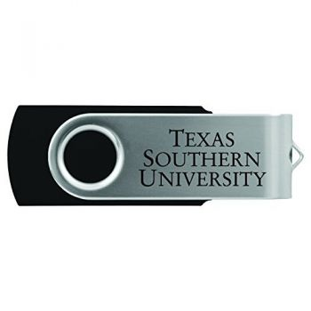 Texas Southern University -8GB 2.0 USB Flash Drive-Black