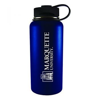 Marquette University-32 oz. Travel Tumbler-Blue