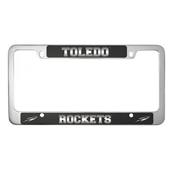University of Toledo -Metal License Plate Frame-Black