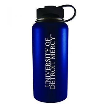 University of Detroit Mercy-32 oz. Travel Tumbler-Blue