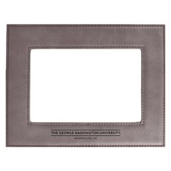 George Washington University-Velour Picture Frame 4x6-Grey