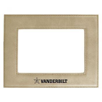 Vanderbilt University-Velour Picture Frame 4x6-Tan
