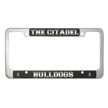 The Citadel-Metal License Plate Frame-Black