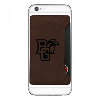 Bowling Green State University-Cell Phone Card Holder-Brown