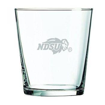 North Dakota State University -13 oz. Rocks Glass