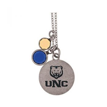University of Northern Colorado-Frankie Tyler by LXG Charmed Necklace