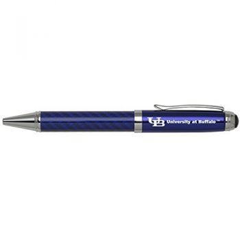 University at Buffalo-The State University of New York -Carbon Fiber Ballpoint Pen-Blue