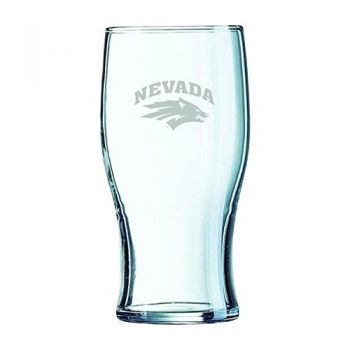 University of Nevada-Irish Pub Glass