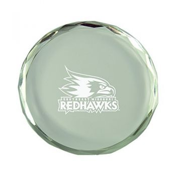 Southeast Missouri State University-Crystal Paper Weight