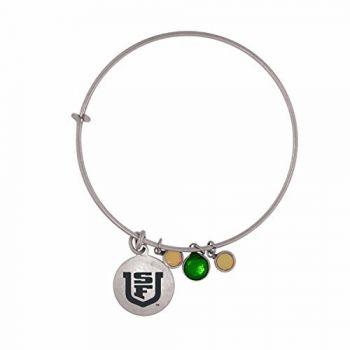 University of San Francisco-Frankie Tyler Charmed Bracelet