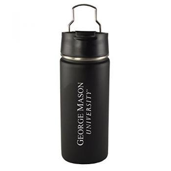 George Mason University -20 oz. Travel Tumbler-Black