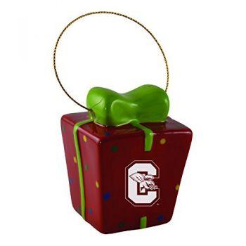 Canisus College-3D Ceramic Gift Box Ornament