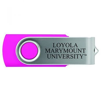 Loyola Marymount University -8GB 2.0 USB Flash Drive-Pink