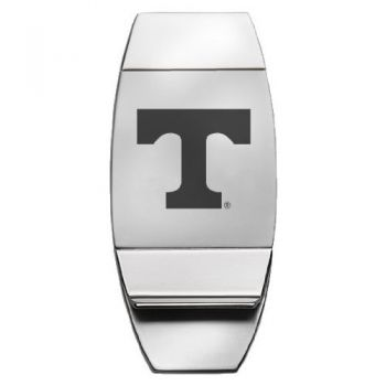 University of Tennessee - Two-Toned Money Clip - Silver