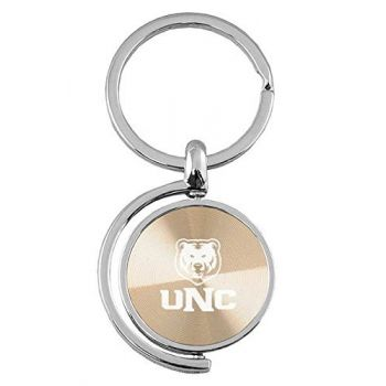 University of Northern Colorado - Spinner Key Tag - Gold