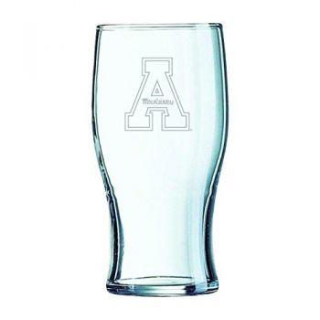 Appalachian State University-Irish Pub Glass