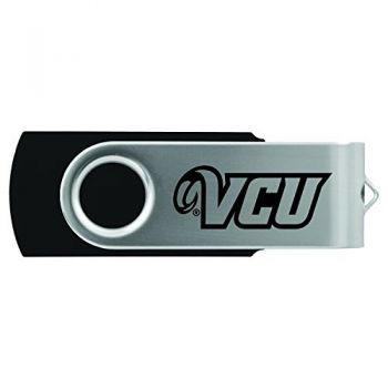 Virginia Commonwealth University-8GB 2.0 USB Flash Drive-Black