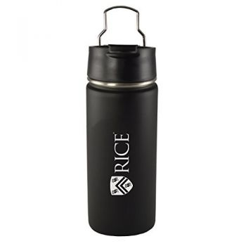 Rice University -20 oz. Travel Tumbler-Black