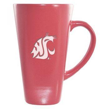 Washington State University -16 oz. Tall Ceramic Coffee Mug-Pink