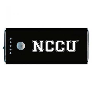 North Carolina Central University -Portable Cell Phone 5200 mAh Power Bank Charger -Black