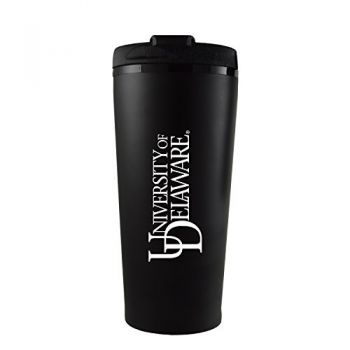 University of Delaware -16 oz. Travel Mug Tumbler-Black