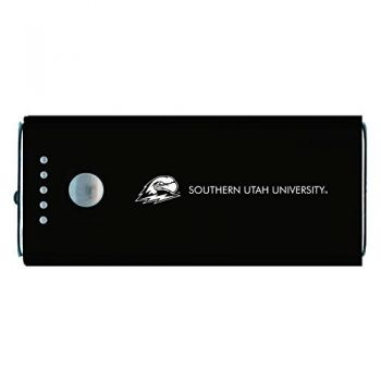 Southern Utah University -Portable Cell Phone 5200 mAh Power Bank Charger -Black