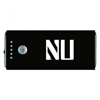 Northwestern University -Portable Cell Phone 5200 mAh Power Bank Charger -Black