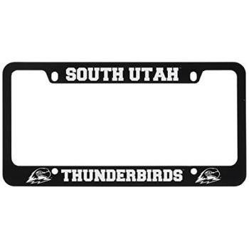 Southern Utah University -Metal License Plate Frame-Black