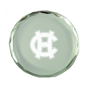 College of the Holy Cross-Crystal Paper Weight