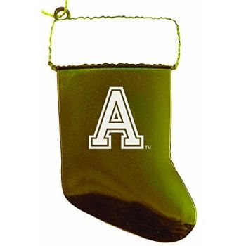 United States Military Academy at West Point - Christmas Holiday Stocking Ornament - Gold