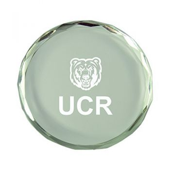 University of California, Riverside-Crystal Paper Weight